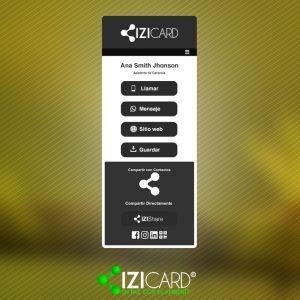 Semilla IZI card