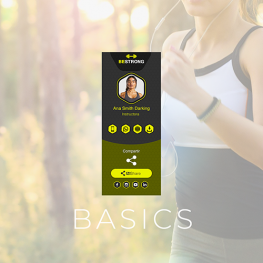 IZI card fitness basics